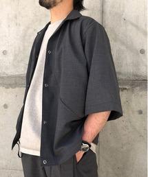 シャツ ブラウス HAVERSACK(ハバーサック) 別注7分丈シャツジャケット|ZOZOTOWN PayPayモール店