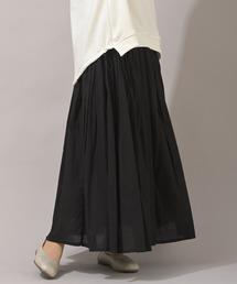 スカート コットンボイルロングスカート|ZOZOTOWN PayPayモール店