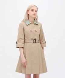 コート トレンチコート プリ―テッド ドレスコート ZOZOTOWN PayPayモール店