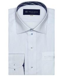 形態安定ノーアイロン ポケクロ ワイド  長袖ビジネスワイシャツ|ZOZOTOWN PayPayモール店