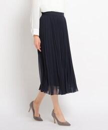 スカート 【洗える】エテプリーツフレアスカート|ZOZOTOWN PayPayモール店