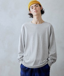 tシャツ Tシャツ Champion/チャンピオン オーバーサイズ  クルーネック 長袖 Tシャツ|ZOZOTOWN PayPayモール店