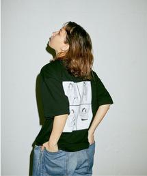 tシャツ Tシャツ 【WEB 限定】【SUNNYxUNCUT BOUND The Standard】フォトプリント クルーネックTシャツ【snyubs|ZOZOTOWN PayPayモール店