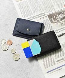 コインケース 札入れ 本革サフィアーノレザーコインパスカードケース コンパクトミニウォレット 財布|ZOZOTOWN PayPayモール店
