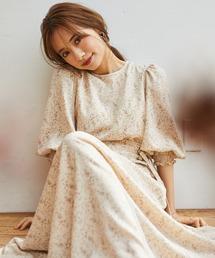 ワンピース <Natsuko Akahani>2way パフスリーブロングワンピース|ZOZOTOWN PayPayモール店