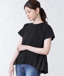 tシャツ Tシャツ フリルコンビカットソー|ZOZOTOWN PayPayモール店