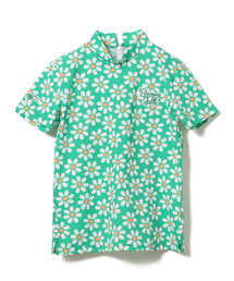tシャツ Tシャツ BEAMS GOLF ORANGE LABEL / ホリデーフラワー柄 モックネック ZOZOTOWN PayPayモール店