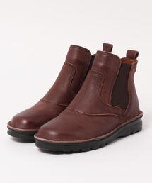 ブーツ 軽量4E設計 サイドゴアショートブーツ/4371【日本製】大きいサイズ&小さいサイズ|ZOZOTOWN PayPayモール店