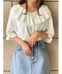 tシャツ Tシャツ カットフリルトップス|ZOZOTOWN PayPayモール店