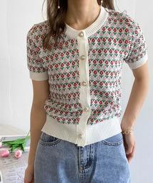 tシャツ Tシャツ lalaBorn/チューリップニットトップス ZOZOTOWN PayPayモール店