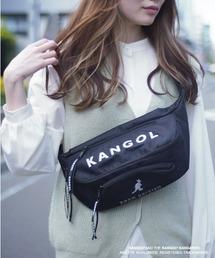 バッグ ウエストポーチ 【 KANGOL / カンゴール 】 メッシュポケット ビッグロゴ ボディバッグ|ZOZOTOWN PayPayモール店