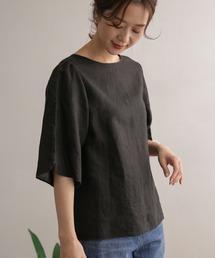 tシャツ Tシャツ リネンチューリップスリーブブラウス|ZOZOTOWN PayPayモール店