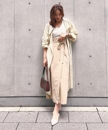 スカート 前ラップ風スカート|ZOZOTOWN PayPayモール店