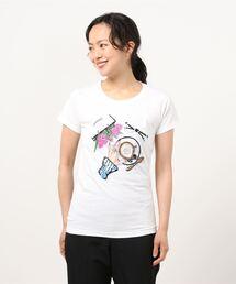 tシャツ Tシャツ 【Desert Rose/デザートローズ】ビーズ刺繍Tシャツ|ZOZOTOWN PayPayモール店