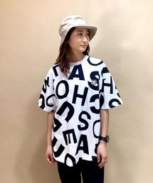 tシャツ Tシャツ DC/ディーシー   ビッグシルエット  ロゴ総柄Tシャツ   LST211311 ZOZOTOWN PayPayモール店
