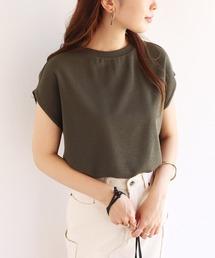 tシャツ Tシャツ ニットソーフレンチスリーブトップス Tシャツ|ZOZOTOWN PayPayモール店