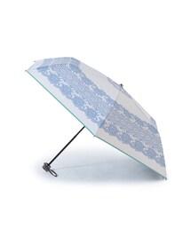 折りたたみ傘 レース柄アンブレラ(折りたたみ)|ZOZOTOWN PayPayモール店