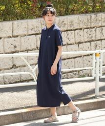 ワンピース LACOSTE × BEAMS BOY / 別注 ピケ ワンピース|ZOZOTOWN PayPayモール店