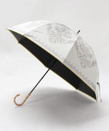 傘 完全遮光晴雨兼用 ショート傘 ダマスク柄 ZOZOTOWN PayPayモール店