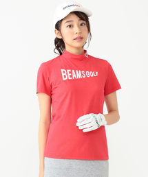 tシャツ Tシャツ BEAMS GOLF ORANGE LABEL / ロゴ モックタールネック シャツ ZOZOTOWN PayPayモール店