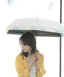 折りたたみ傘 裾線柄折りたたみ晴雨兼用日傘/ab21ss ZOZOTOWN PayPayモール店