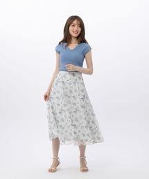 スカート フラワープリントレーススカート|ZOZOTOWN PayPayモール店