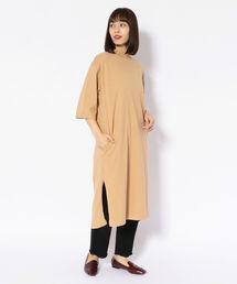 ワンピース MANASTASH/マナスタッシュ WOMENS MOCK NECK DRESS/ウィメンズモックネックドレス ワンピース|ZOZOTOWN PayPayモール店