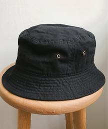 帽子 ハット newhattan / ウォッシュド コットン ツイル バケットハット|ZOZOTOWN PayPayモール店