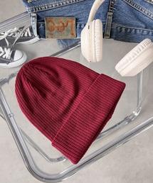 帽子 キャップ newhattan(ニューハッタン) / 2WAY コットン リブ ニットキャップ|ZOZOTOWN PayPayモール店