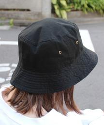 帽子 ハット 【newhattan】ニューハッタン ウォッシュドコットン ツイルバケットハット H1500|ZOZOTOWN PayPayモール店