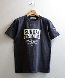 tシャツ Tシャツ 【SUNDAY BEACH CRUISER】カコミロゴ半袖Tシャツ|ZOZOTOWN PayPayモール店
