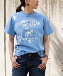 tシャツ Tシャツ 【SUNDAY BEACH CRUISER】波乗りMILEY半袖Tシャツ|ZOZOTOWN PayPayモール店