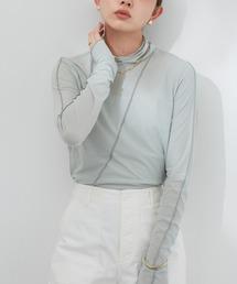 tシャツ Tシャツ アウトシームシアータートルネックトップス / AUNT MARIE'S|ZOZOTOWN PayPayモール店