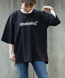 tシャツ Tシャツ ORDINARIESロゴオーバーTシャツ|ZOZOTOWN PayPayモール店