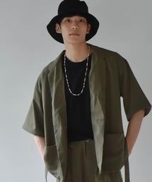 シャツ ブラウス ビッグシルエット ストレッチテーラーシャツジャケット|ZOZOTOWN PayPayモール店