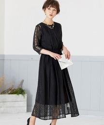 ドレス 2way セットアップ レースガウン ワンピースドレス|ZOZOTOWN PayPayモール店