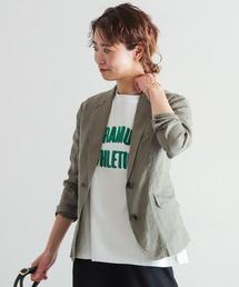 ジャケット テーラードジャケット フレンチリネン テーラードジャケット|ZOZOTOWN PayPayモール店