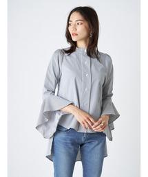 シャツ ブラウス バックロングテールシャツ|ZOZOTOWN PayPayモール店