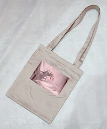 トートバッグ バッグ tulip satin tote bag|ZOZOTOWN PayPayモール店