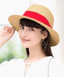 帽子 ハット カブロカムリエ レディース帽子 CENTER 麦わら 中折れハット|ZOZOTOWN PayPayモール店