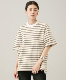 tシャツ Tシャツ Curensology(カレンソロジー)/【Scye/サイ】ストライプショートスリーブTシャツ|ZOZOTOWN PayPayモール店