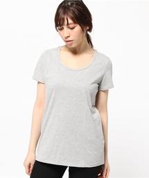 tシャツ Tシャツ Janis サンデッドジャージー UネックTシャツ ZOZOTOWN PayPayモール店