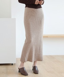 スカート ベーシック ロング リブニット /シンプルロングタイトスカート|ZOZOTOWN PayPayモール店