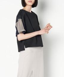 tシャツ Tシャツ oops/600183 スリーブパッチワークボンディングPO|ZOZOTOWN PayPayモール店
