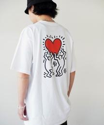 tシャツ Tシャツ 【 Keith Haring / キースへリング 】 アート プリント T シャツ|ZOZOTOWN PayPayモール店