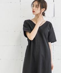 ワンピース 【STYLEBAR】ウォッシングステッチドレス|ZOZOTOWN PayPayモール店