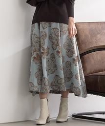 スカート フラワージャガードスカート|ZOZOTOWN PayPayモール店