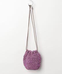 バッグ ハンドバッグ BAGMATI バグマティー / 天然草木編み込みメッシュミニ巾着バッグ / BBK19-05|ZOZOTOWN PayPayモール店