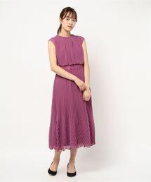 ドレス 変形プリーツ組み合わせロングドレス|ZOZOTOWN PayPayモール店