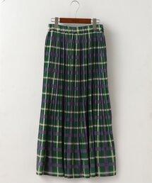 スカート オリジナルチェック消しプリーツスカート|ZOZOTOWN PayPayモール店